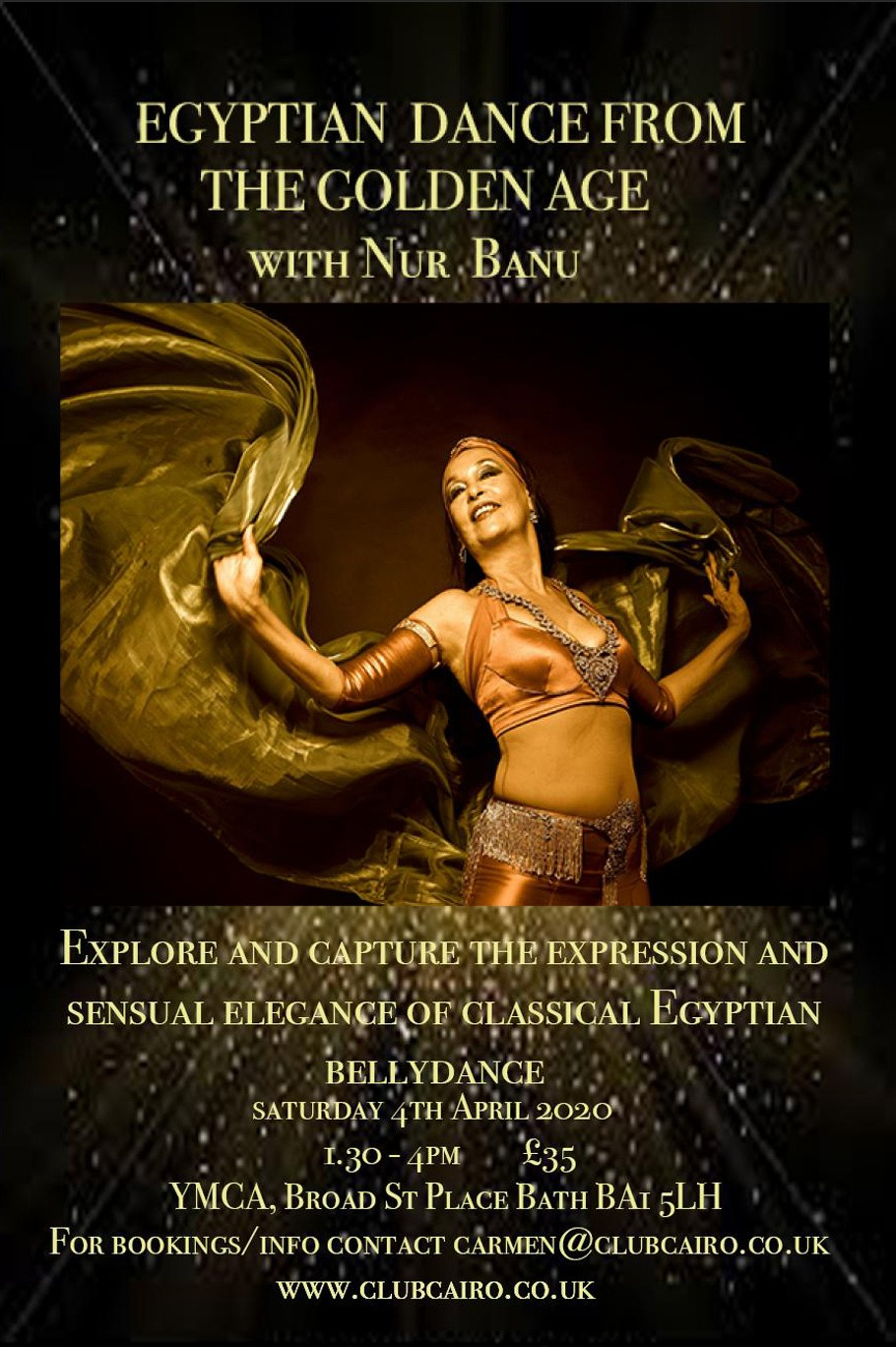 Egyptian Dance from the Golden Age, 04-Apr-2020